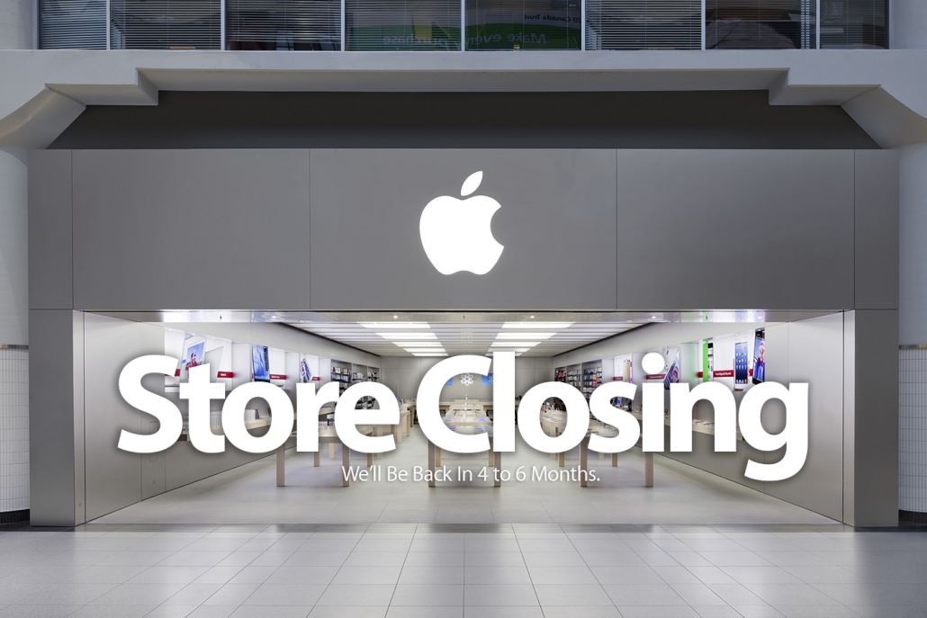 UberMac - Palm Beach Gardens Mall Apple Store Temporarily Closing